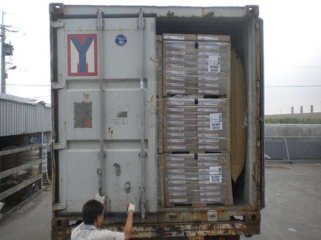 貨櫃填充氣袋 使用案例