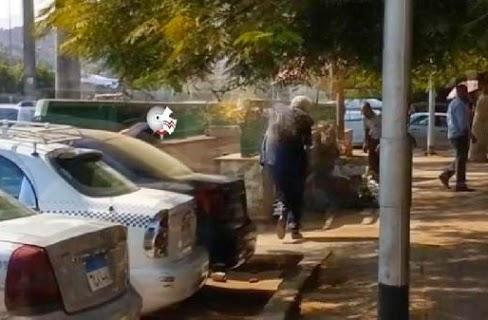 فيديو: لحظة إلقاء مياه قذرة وضرب مرتضى منصور