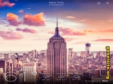 Yahoo ipad hava durumu uygulamasını güncelledi