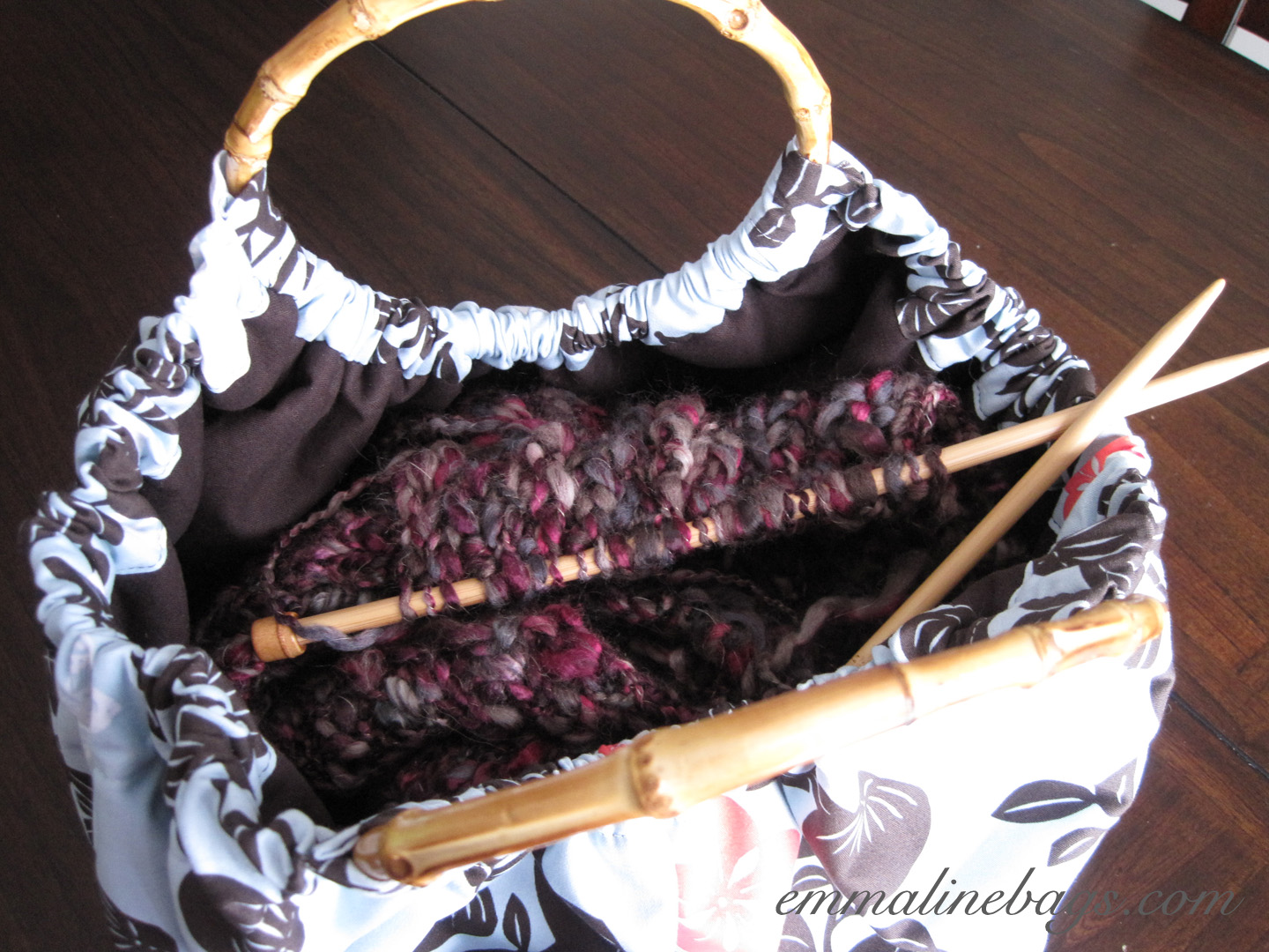Knitting Bag Pattern To Sew : Emmaline Bags: Sewing Patterns and Purse Supplies: Free Purse Tutorial: The G...