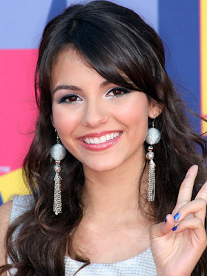 Victoria Justice Sterling Dangle Earrings
