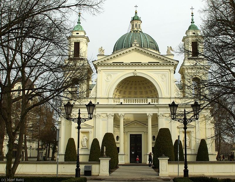 Wilanów Kościół św. Anny front