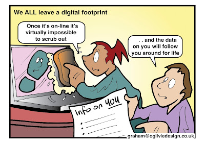 Your digital footprint, professional digital footprint