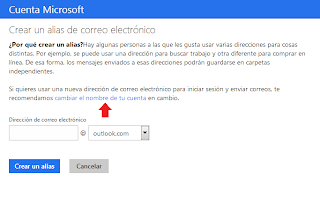 cambiar cuenta correo hotmail a outlook.com