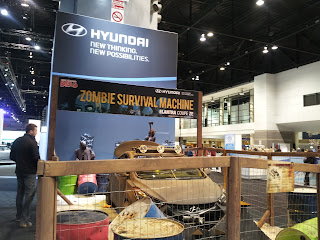2013 Chicago Auto Show Hyundai Zombie Survival Machine