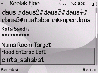 Koplak Flood Enter Left Room Nimbuzz for Java Symbian Screenshot0043