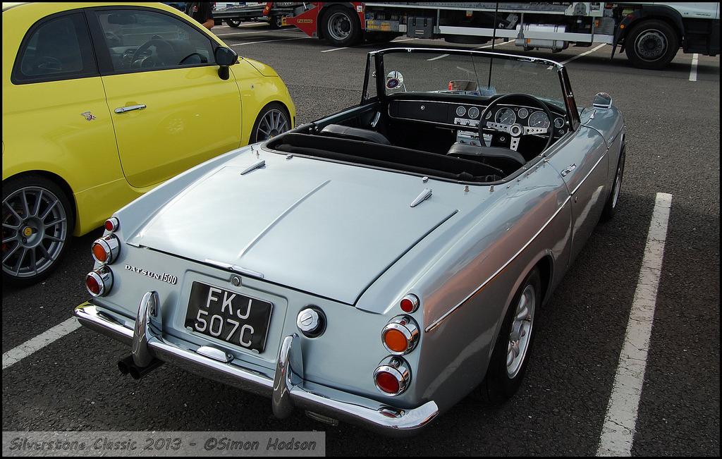 Datsun Fairlady 1500, G15, tylnonapędowe roadstery, klasyki, oldschool, dawne auta, zdjęcia, galeria, fotki