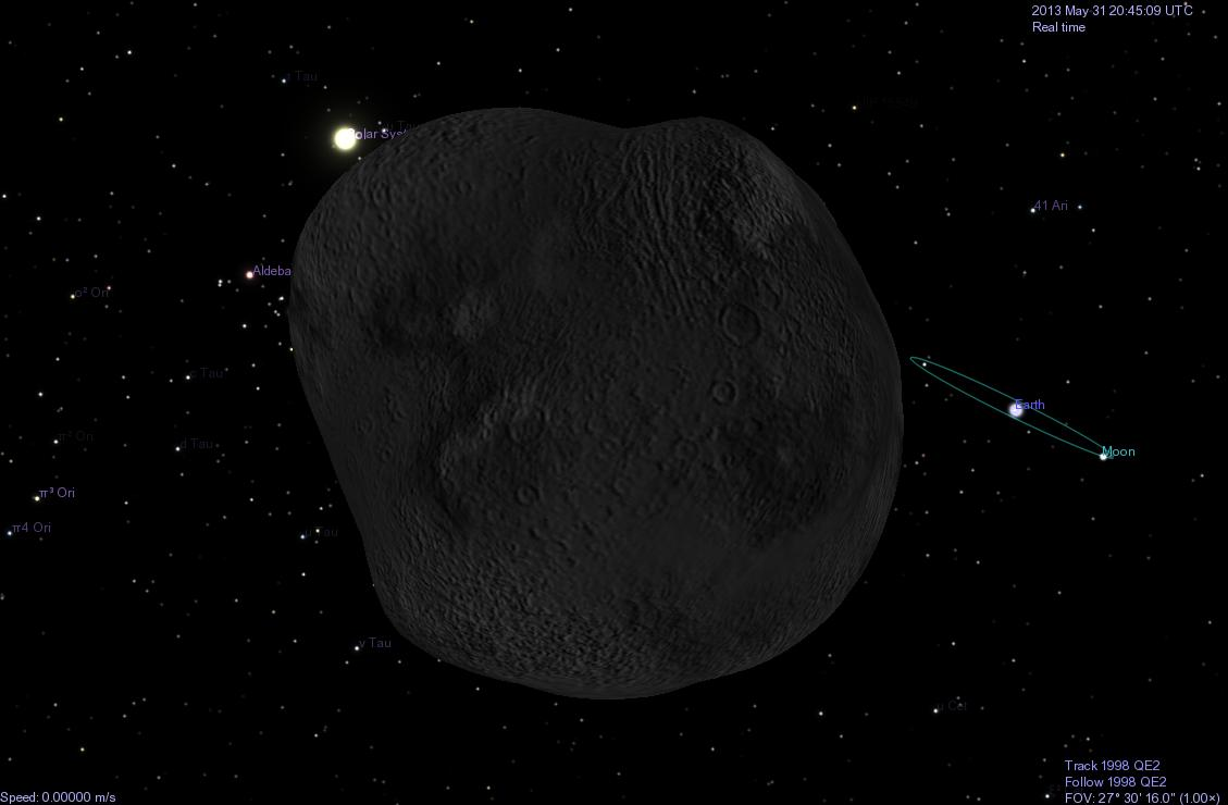 Watch Live  3 pm EST! Asteroid 2017 BS32 Earth Flyby