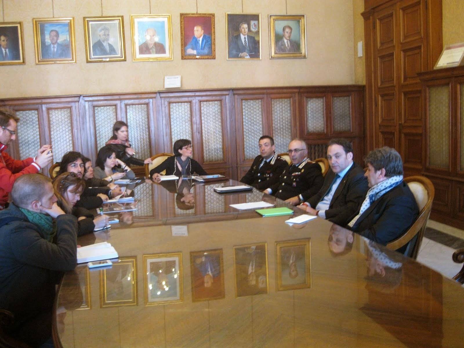 I Carabinieri in cattedra. Ha partecipato alla conferenza stampa il Direttore Dott. Pietro VITALE