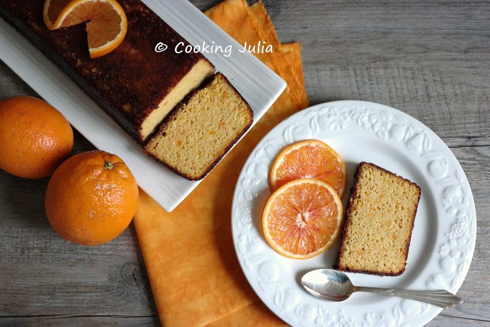Cooking Julia Gâteau Moelleux Aux Oranges Entières