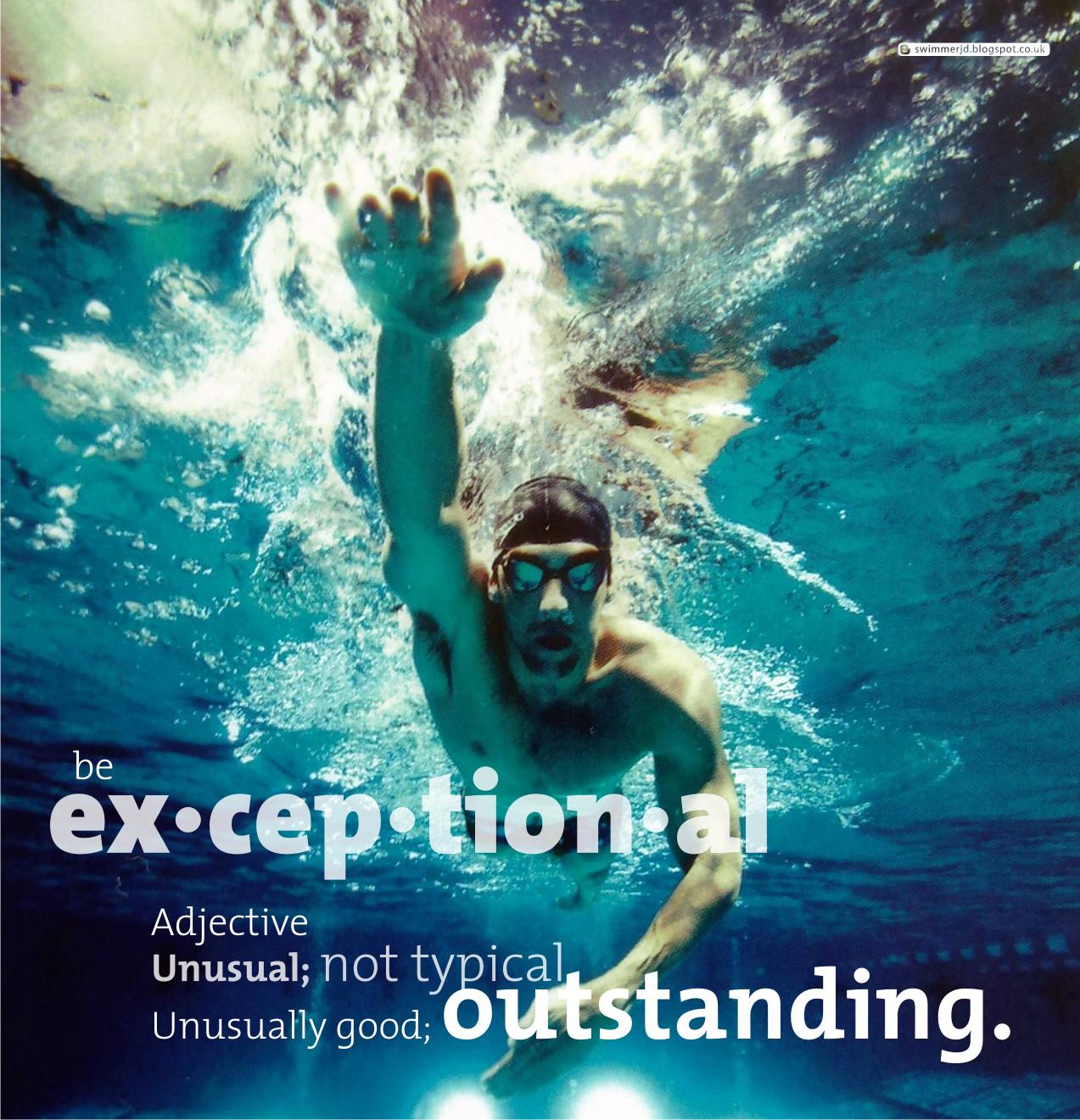 Swimmer James Davies Exceptional Inspiration