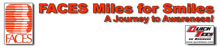 FACES Miles for Smiles – A Journey to Awareness!