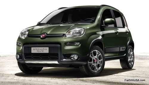 Fiat 500 Panda 4x4 'SUV of the Year 2012'