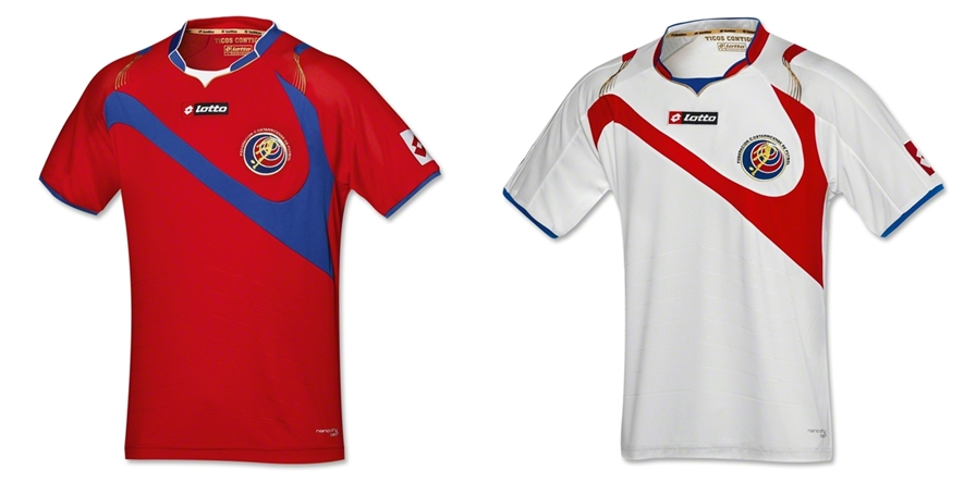 Kosta Rika - Jersey Grade Ori Piala Dunia 2014