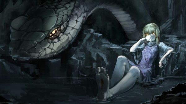 Niña de la Cueva de la Serpiente