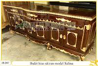 Bufet misbar hias ukiran model salina
