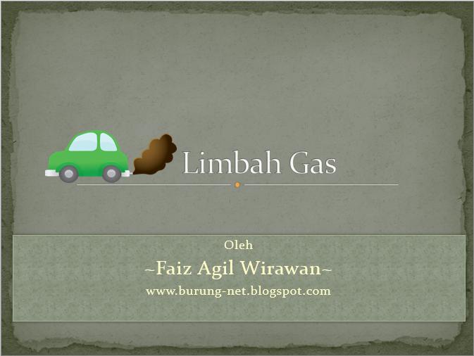 download contoh presentasi powerpoint tentang limbah gas