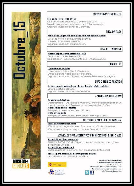 MUSEO NACIONAL DE CERÁMICA OCTUBRE 2015