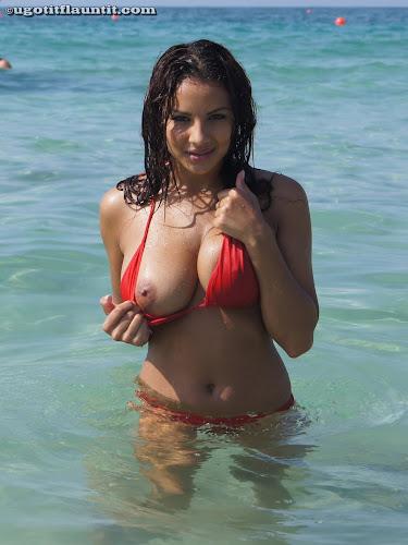 Lacey - Red Bikini_2
