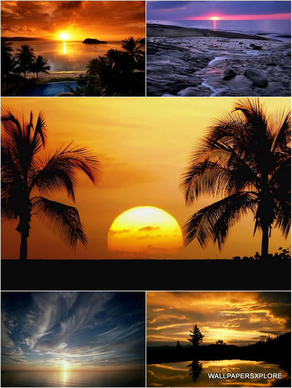 Exotic Places Best Sunset In The World
