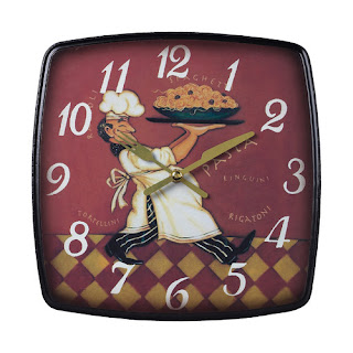 Busy Chef Clock, wayfair, Sterling Industries
