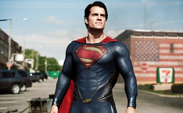 Man Of Steel Henry Cavill acteur SuperMan 2013, Christopher Nolan