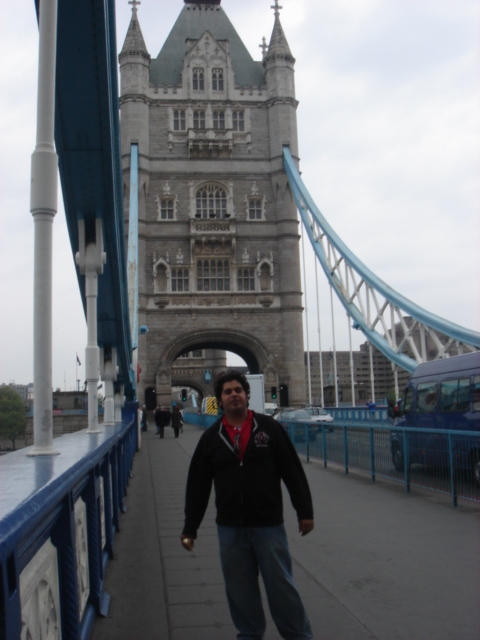 Tower of Tower Bridge in London