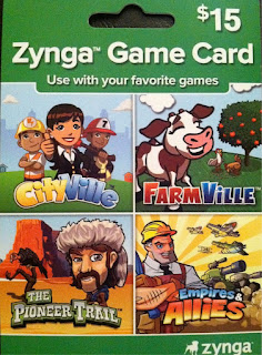 Voucher Game Zynga