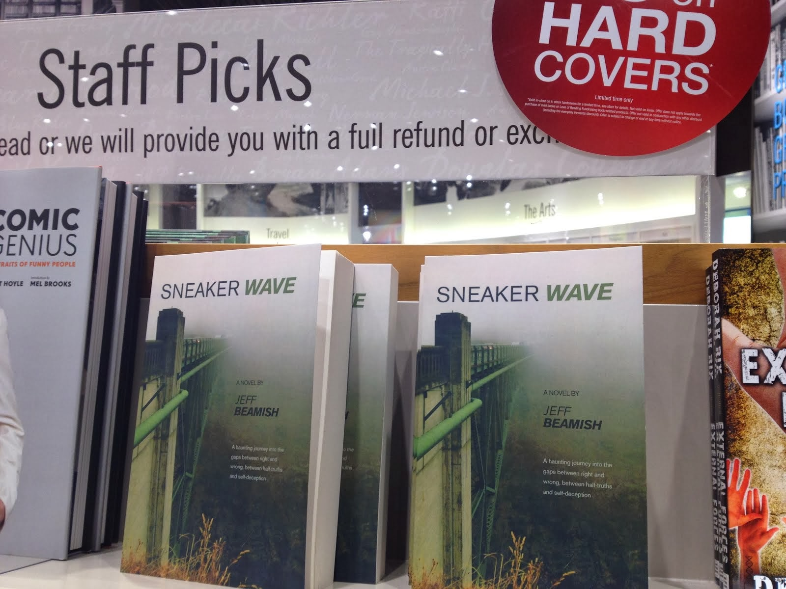 Sneaker Wave a Staff Pick at Chapters/Indigo