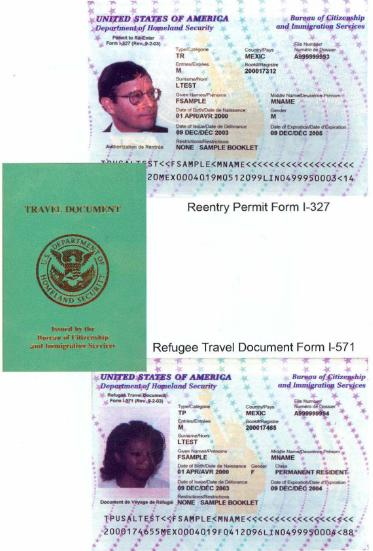 temporary resident permit application at port of entry