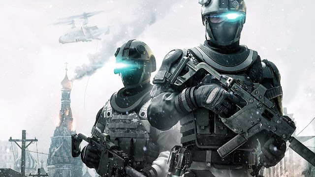 Futuristic Ghost Recon Future Soldier HD Wallpaper