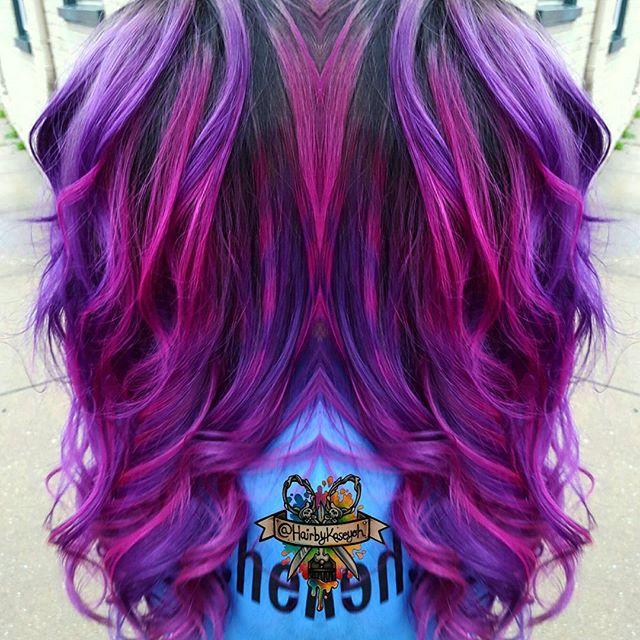 Astonishing Vibrant Hair Colors By Kasey O39Hara Maryland USA