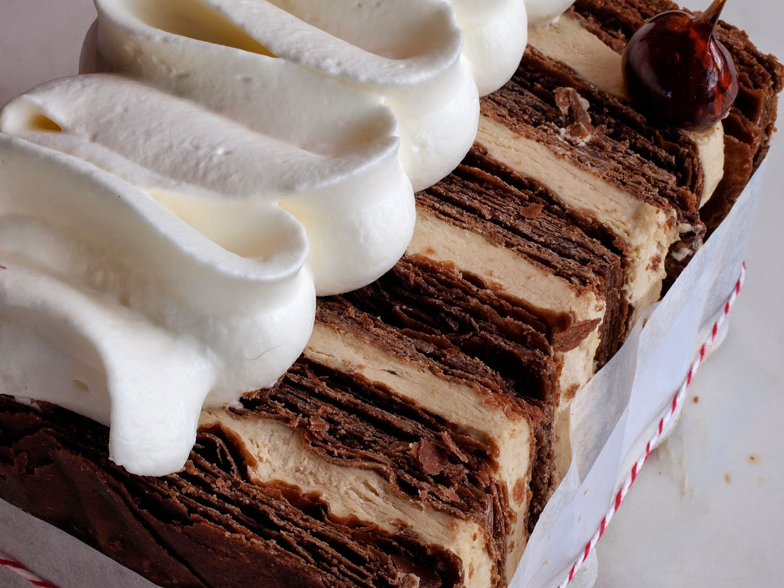 Chocolate Praline Napoleons A Study In Puff Pastry