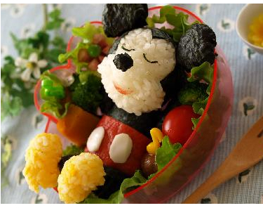 Mickey Mouse- Bento Friday!
