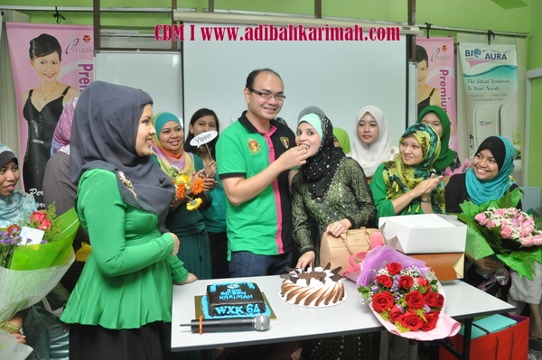 CDM Adibah Karimah dan dr hasbi from Green leaders group of premium beautiful business