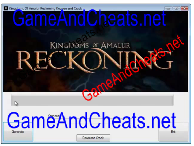 Kingdom Of Amalur Reckoning Cheats