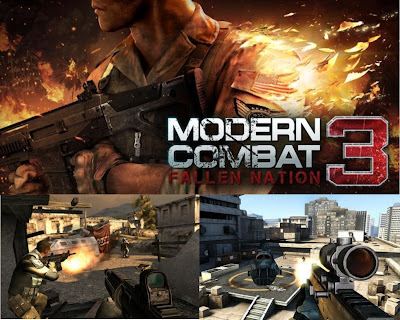 Modern Combat 3: Fallen Nation Android