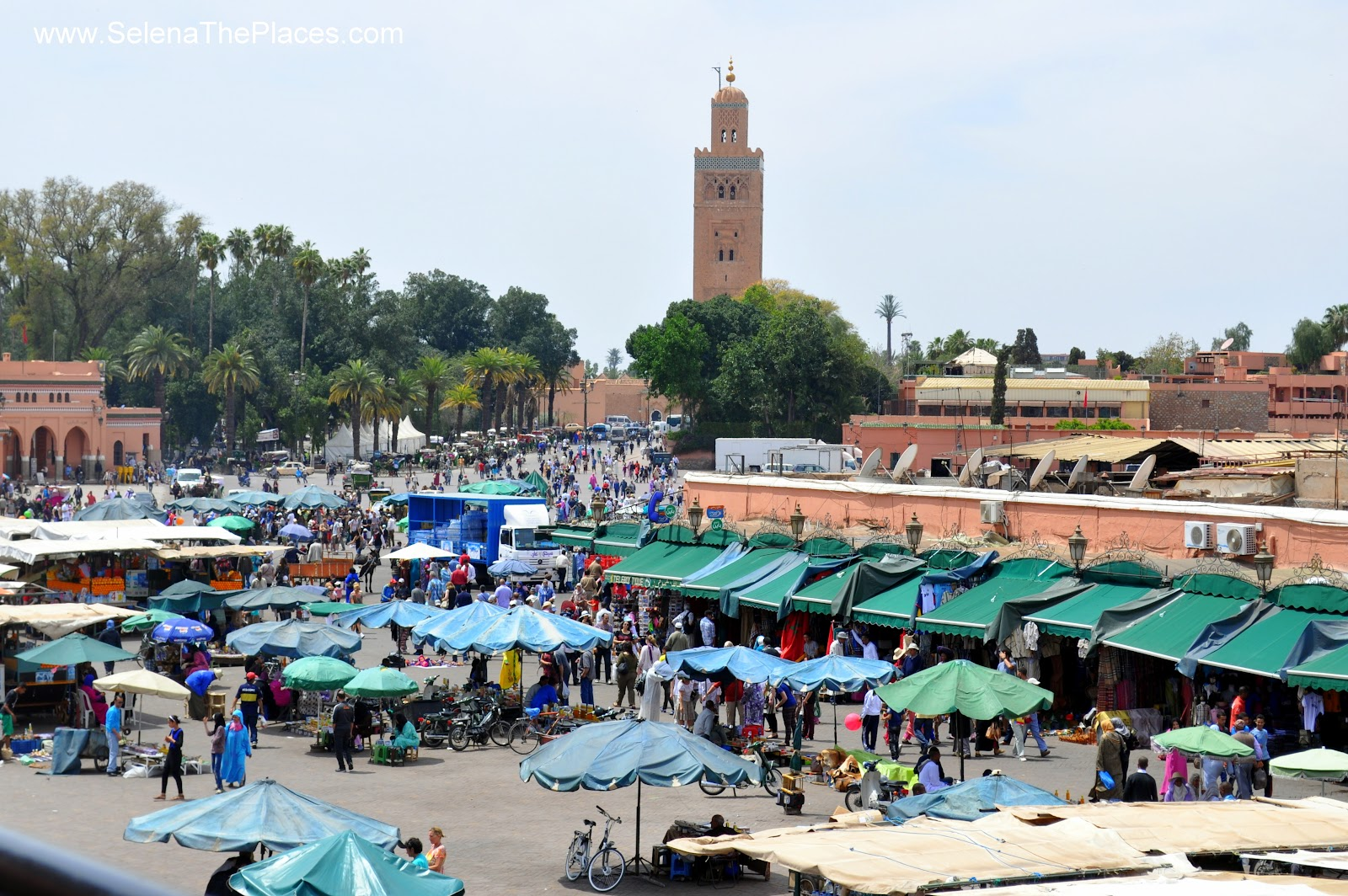 Jamaa el Fna - The Main Square of Marrakesh, Morocco