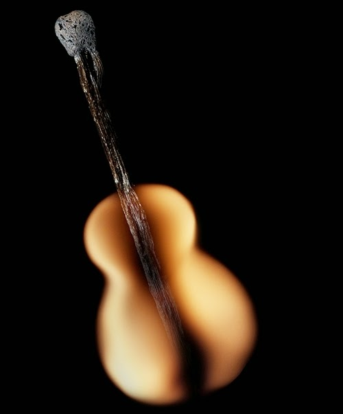 16-Match-Guitar-Flame-Russian-Photographer-Illustrator-Stanislav-Aristov-PolTergejst-www-designstack-co