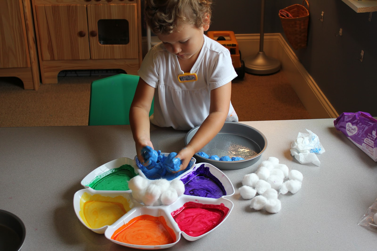 Play At Home Mom Llc Baked Cotton Balls