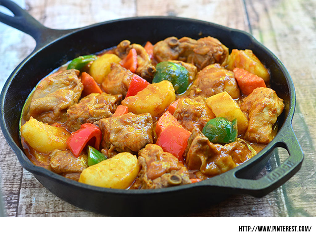 Same As The Beef Caldereta It Is A Filipino Dish Stew With Flavors That Is Influenced During The Spanish Colonization How We Love The Mix Of Chicken