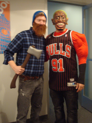 GotPrint halloween 2011 costumes lumber jack and basketball player