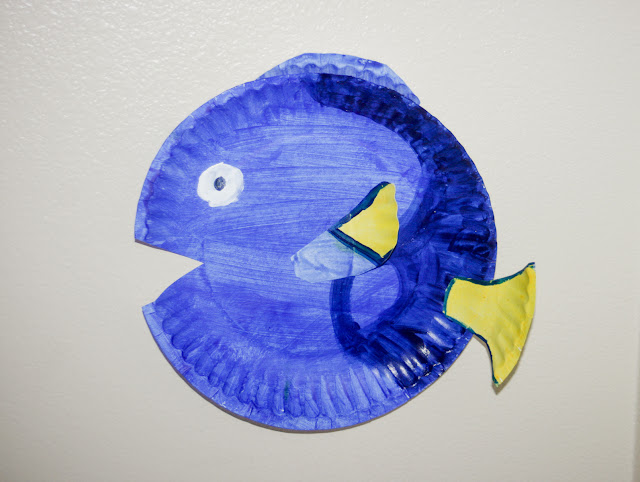 Mommy minutes paper plate fish for Paper plate fish