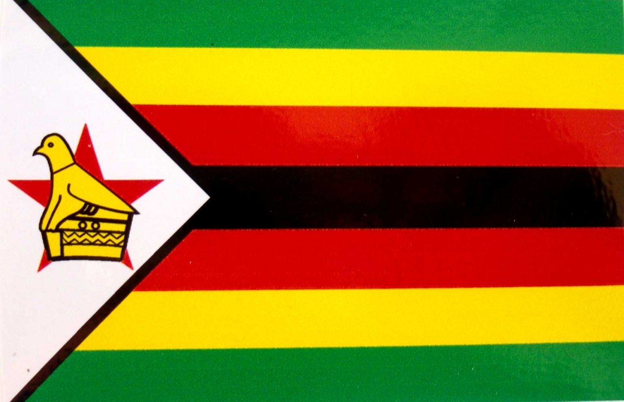 Zimbabwe flag pictures for The flag is