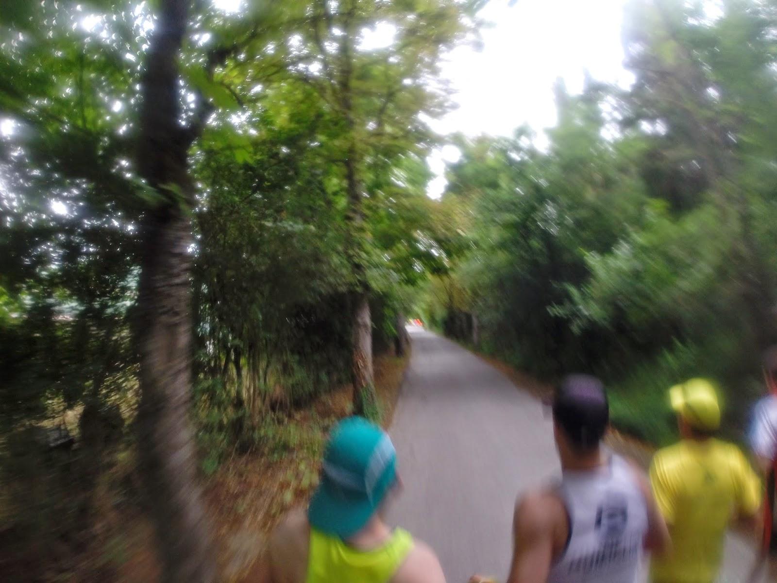 recorrido san fermin maraton pamplona 2014