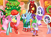 My little Pony New Year Party juego