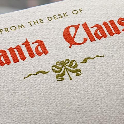 Letterhead From Santa Santa Claus Letterhead
