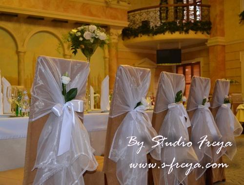 Как сделать стул на свадьбу