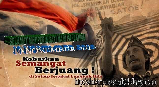 Selamat Hari Pahlawan 10 November 2012, Nama-nama Pahlawan Nasional