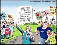 Violent Tea Partiers